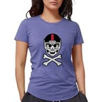 Lil' Spike Skully Womens Tri-blend T-Shirt