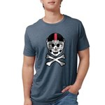 Lil' Spike Skully Mens Tri-blend T-Shirt