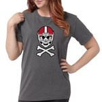 Lil' Spike Skully Womens Comfort Colors Shirt