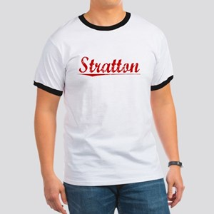 Stratton, Vintage Red Ringer T