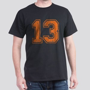 Retro 13 Number Dark T-Shirt