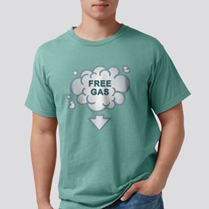Free_Gas_Back_Final Mens Comfort Colors Shirt