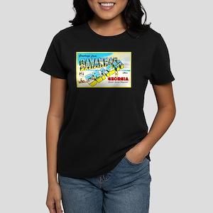 Savannah Beach Georgia Women's Dark T-Shirt