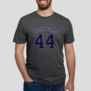 44_BarackObama Mens Tri-blend T-Shirt