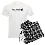 Black Mullet fish Men's Light Pajamas