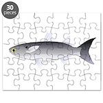 Black Mullet fish Puzzle