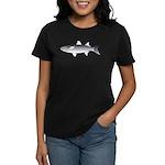 Black Mullet fish Women's Dark T-Shirt
