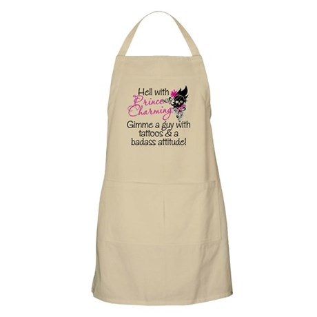 Hell With Prince Charming Apron