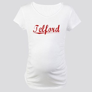 Telford, Vintage Red Maternity T-Shirt