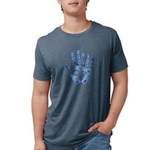 FringeHandFinal Mens Tri-blend T-Shirt