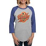 DaddyOfinal_onwhite Womens Baseball Tee