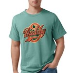 DaddyOfinal_onwhite Mens Comfort Colors Shirt
