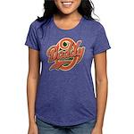 DaddyOfinal_onwhite Womens Tri-blend T-Shirt