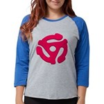 DJ Super Hero Womens Baseball Tee