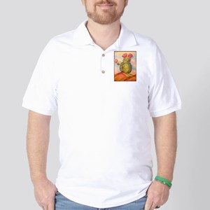 Cactus! Desert southwest art! Golf Shirt