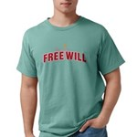 Free Will Mens Comfort Colors Shirt