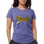 IRON_CITY_FAN_onwht Womens Tri-blend T-Shirt