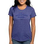Union Grounds Blue Womens Tri-blend T-Shirt