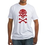 Lil' SpeedSkater Skully Fitted T-Shirt