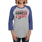 HAWK5 Womens Baseball Tee