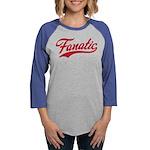 Fanatic_Red Womens Baseball Tee