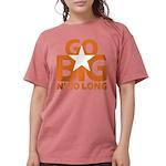 Go Big Womens Comfort Colors Shirt