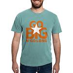 Go Big Mens Comfort Colors Shirt
