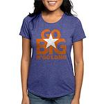 Go Big Womens Tri-blend T-Shirt