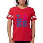 i LIKE Womens Football Shirt