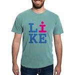 i LIKE Mens Comfort Colors Shirt