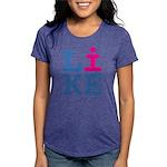 i LIKE Womens Tri-blend T-Shirt