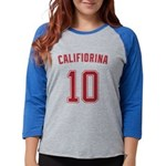 Califiorina Womens Baseball Tee