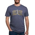 Fleur_De_Lis Mens Tri-blend T-Shirt