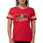 NationalChamps_BlkGld Womens Football Shirt