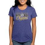NationalChamps_BlkGld Womens Tri-blend T-Shirt