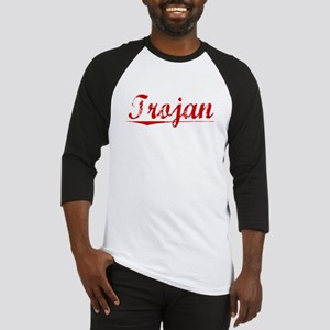 Trojan, Vintage Red Baseball Jersey