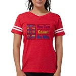 Count on Me Womens Football Shirt