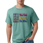Count on Me Mens Comfort Colors Shirt