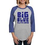 Big Blue Elite Crew Womens Baseball Tee