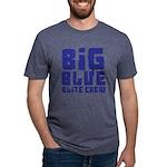 Big Blue Elite Crew Mens Tri-blend T-Shirt