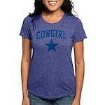 2-Cowgirl_Final Womens Tri-blend T-Shirt