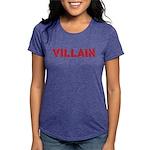 VILLAINtext Womens Tri-blend T-Shirt