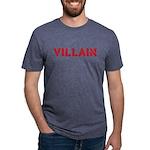 VILLAINtext Mens Tri-blend T-Shirt