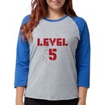 Level5text Womens Baseball Tee