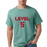 Level5text Mens Comfort Colors Shirt