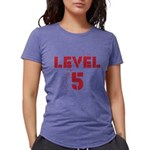 Level5text Womens Tri-blend T-Shirt
