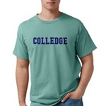 From College to Colledge Mens Comfort Colors Shirt