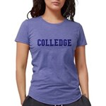 From College to Colledge Womens Tri-blend T-Shirt
