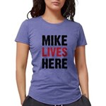 Mike_Lives_Here Womens Tri-blend T-Shirt
