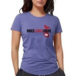 3-MikeLives Womens Tri-blend T-Shirt